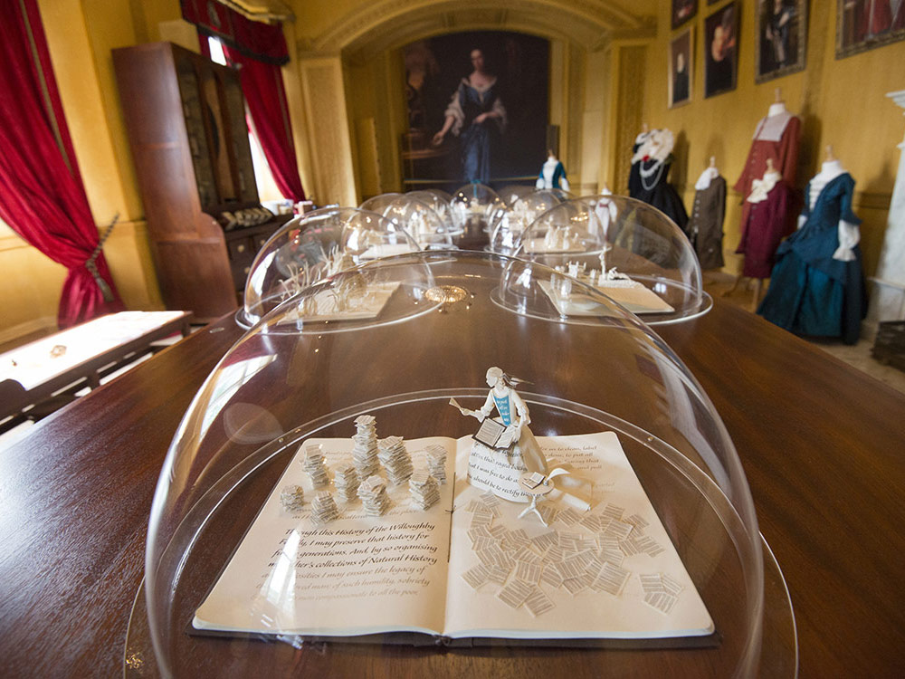 The Cassandra Room at Wollaton Hall designed and curated by Dragon Breath Theatre. Helen created the soundscape